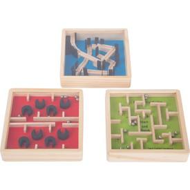 Legler Dřevěný barevný kuličkový labyrint 1 ks