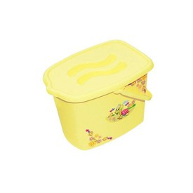 TEGA BABY Kyblík na pleny Želvička žlutý