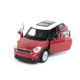 Welly - Mini Cooper S Paceman model 1:34 červený