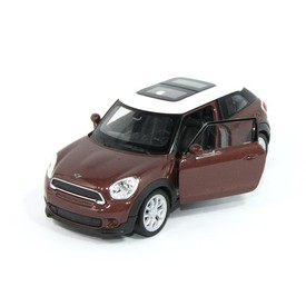Welly - Mini Cooper S Paceman model 1:34 hnědý