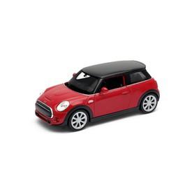 Welly - New Mini Hatch model 1:34 červený