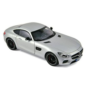 Welly - Mercedes-AMG GT model 1:34 stříbrný
