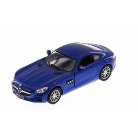 Welly - Mercedes-AMG GT model 1:34 modrý