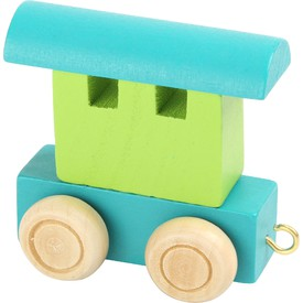Legler Vláček abeceda - vagónek zelený