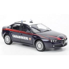 Welly - Alfa 159 Sportwagon model 1:43 záchranáři černé