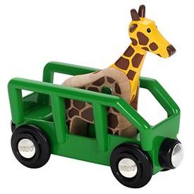 Příslušenství vláčkodráhy - Žirafa ve vagónu