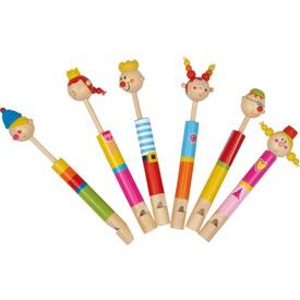 Sada dřevěná flétna - Královská rodina 6  ks
