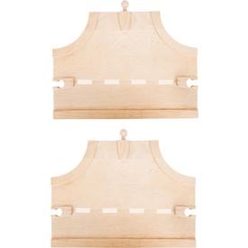 Dřevěná autodráha - T-křižovatka