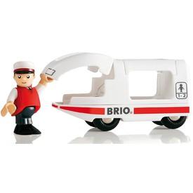 Vláček vláčkodráhy - Lokomotiva BRIO se strojvedoucím
