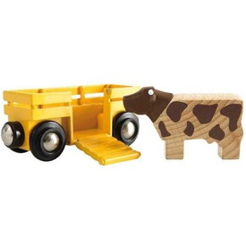 Vagón s kravičkou Brio 33406