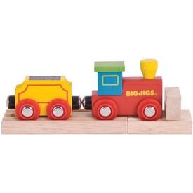 Vláček vláčkodráhy Bigjigs Rail - Můj první vlak