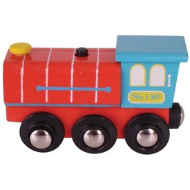 Bigjigs toys lokomotiva se zvukem