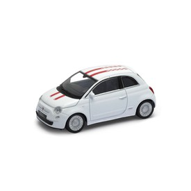 Welly - Fiat 500 model 1:43  bílá
