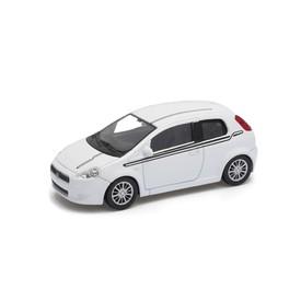 Welly - Fiat Grande Punto model 1:43 bílý sport