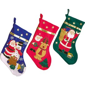 Vánoční ponožka 3 ks