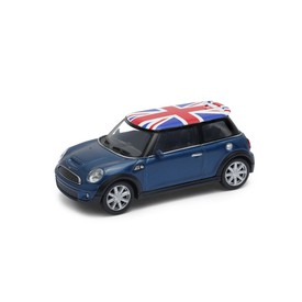 Welly - Mini Cooper S (Velká Británie) model 1:43