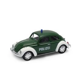 Welly - Volkswagen Beetle 1:43 policie modrá