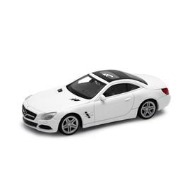 Welly - Mercedes Benz SL 500 model 1:43 bílé