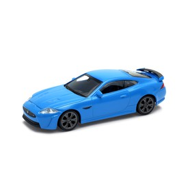 Welly - Jaguar XKR-S model 1:43 modrý