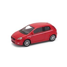 Welly - Fiat Grande Punto model 1:43 červený sport