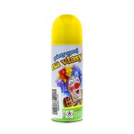 Wiky Sprej na vlasy se třpytkami 140 ml žlutý