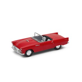 Welly - Ford Thunderbird (1955) model 1:34 modrý