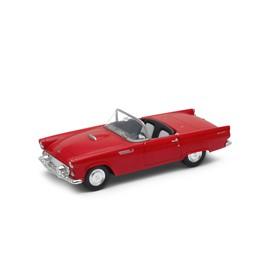 Welly - Ford Thunderbird (1955) model 1:34 žlutý
