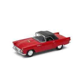 Welly - Ford Thunderbird (1955) model 1:34 krémový