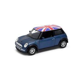Welly - Mini Cooper (Velká Británie) model 1:34 žlutý