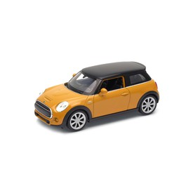 Welly - New Mini Hatch model 1:34 krémový