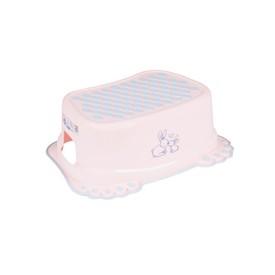 TEGA BABY Dětské protiskluzové stupátko do koupelny Bunny růžové