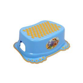 TEGA BABY Dětské protiskluzové stupátko do koupelny Tlapky modré