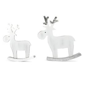 Vánoční dekorace - Houpací sob 2ks