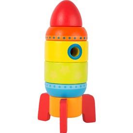 Small foot by Legler Dřevěná barevná raketa