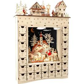 Legler Dřevěný adventní kalendář Zimní sen