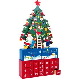 Legler Dřevěný adventní kalendář - Vánoční stromeček