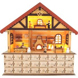 Legler Dřevěný adventní kalendář - Vánoční pekárna