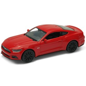 Welly - Ford Mustang GT (2015) model 1:34 červený