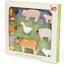 Le Toy Van Dřevěný set Zvířátka s farmy