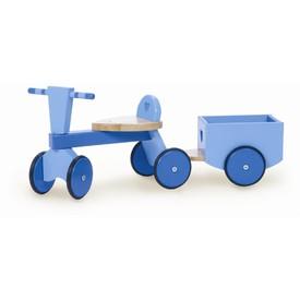 Le Toy Van Dřevěné odrážedlo s valníkem modré
