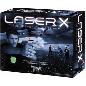 TM TOYS LASER-X Pistole s infračervenými paprsky - Sada pro 1 hráče