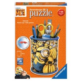 Ravensburger puzzle 3D Stojan na tužky  Mimoňové Já padouch 3 54 dílků