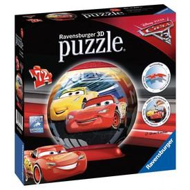 Ravensburger Disney Auta 3 puzzleball 72 dílků