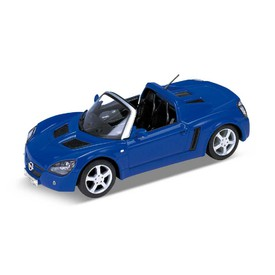 Welly - Opel Speedster  1:24 modrý