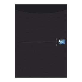 OXFORD Blok lepený A4 50 listů černý - linkovaný