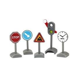 Brio dopravní značky a hodiny