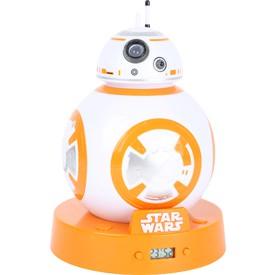 Budík s projektorem Star Wars BB-8