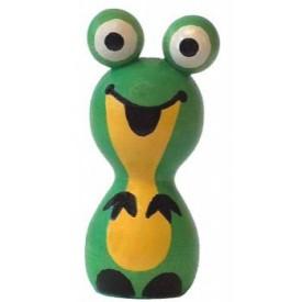 Dřevěné hračky - dřevěné dekorace - Žabka magnet