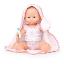 Petitcollin koupací panenka Baby Doll 36 cm s ručníkem