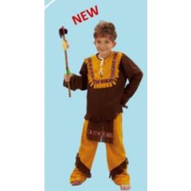 EDEN Kostým na karneval Indián S Velikost S 110-120 cm